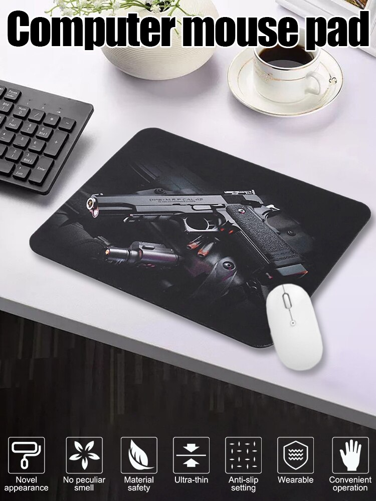 Cool USB Mouse Pad Mat Anti-Slip Rubber Base Comfort Gaming Mouse Pad For Laptop PC Computer mrgbest animal flamingo pink mouse pads natural rubber base precision weaving cloth mouse mat anti fray for girl female games