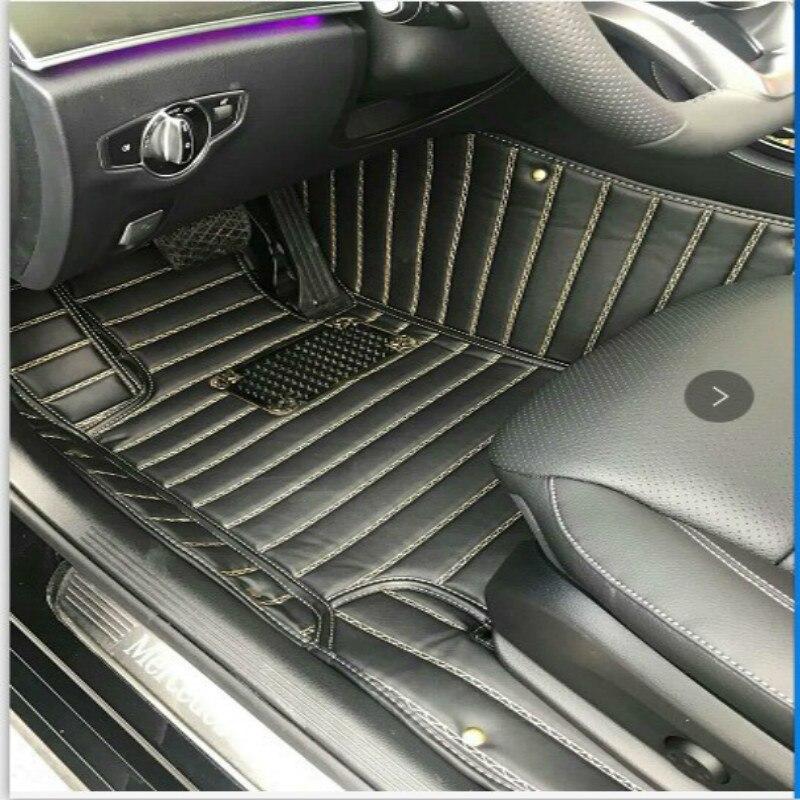 Full Covered Carpets Custom Left/Right Hand Drive LHD/RHD Car Floor Mats for Ford Focus Mondeo Kuga Edge Ecosport Fiesta S-MAX