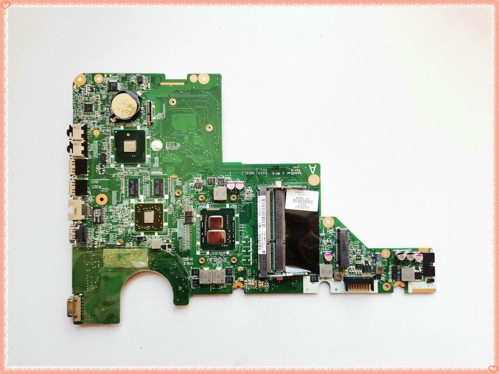 637584-001 ل HP G62 دفتر DAAX1JMB8C0 ل HP جناح G62 G42 اللوحة المحمول HM55 HD6370/512M i3-370M وحدة المعالجة المركزية