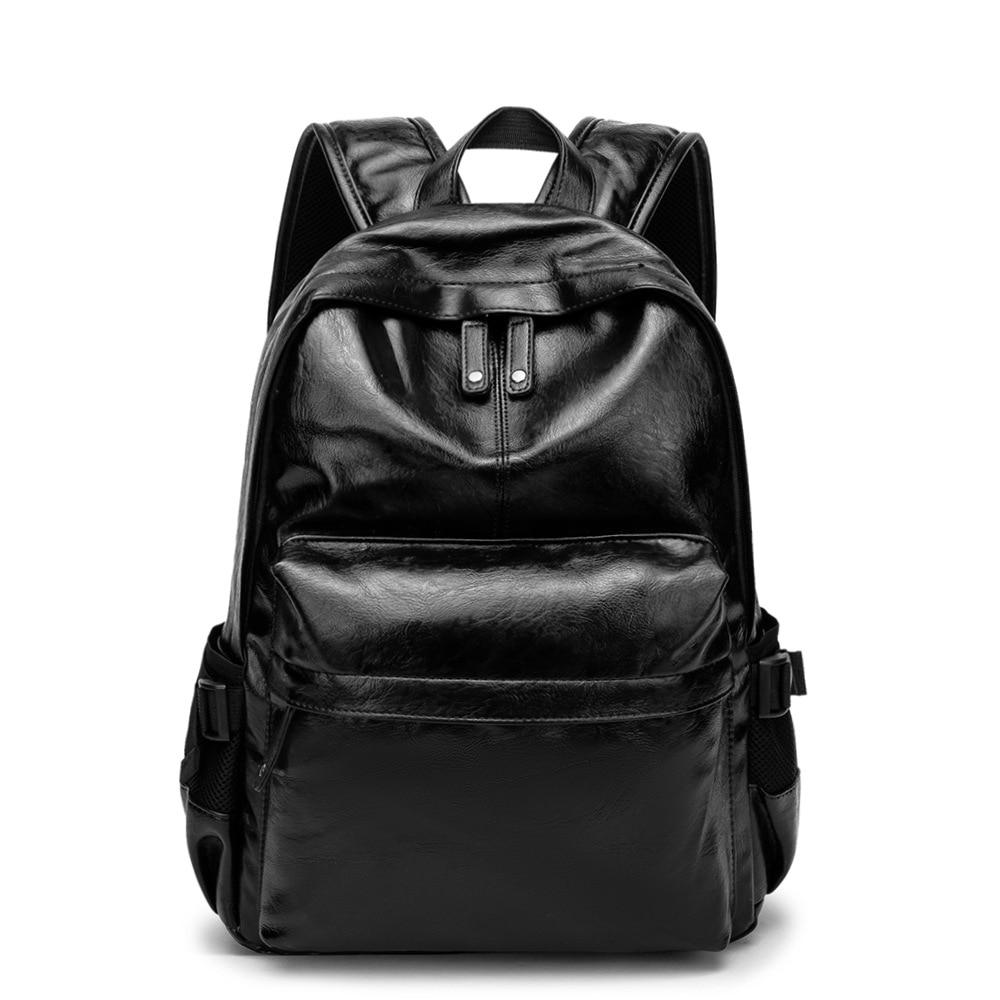 Weysfor Vogue, mochila de PU para hombres y mujeres, mochila escolar para hombre, mochila escolar de cuero, bolsa de negocios, bolsa grande para portátil, bolsas de viaje para compras