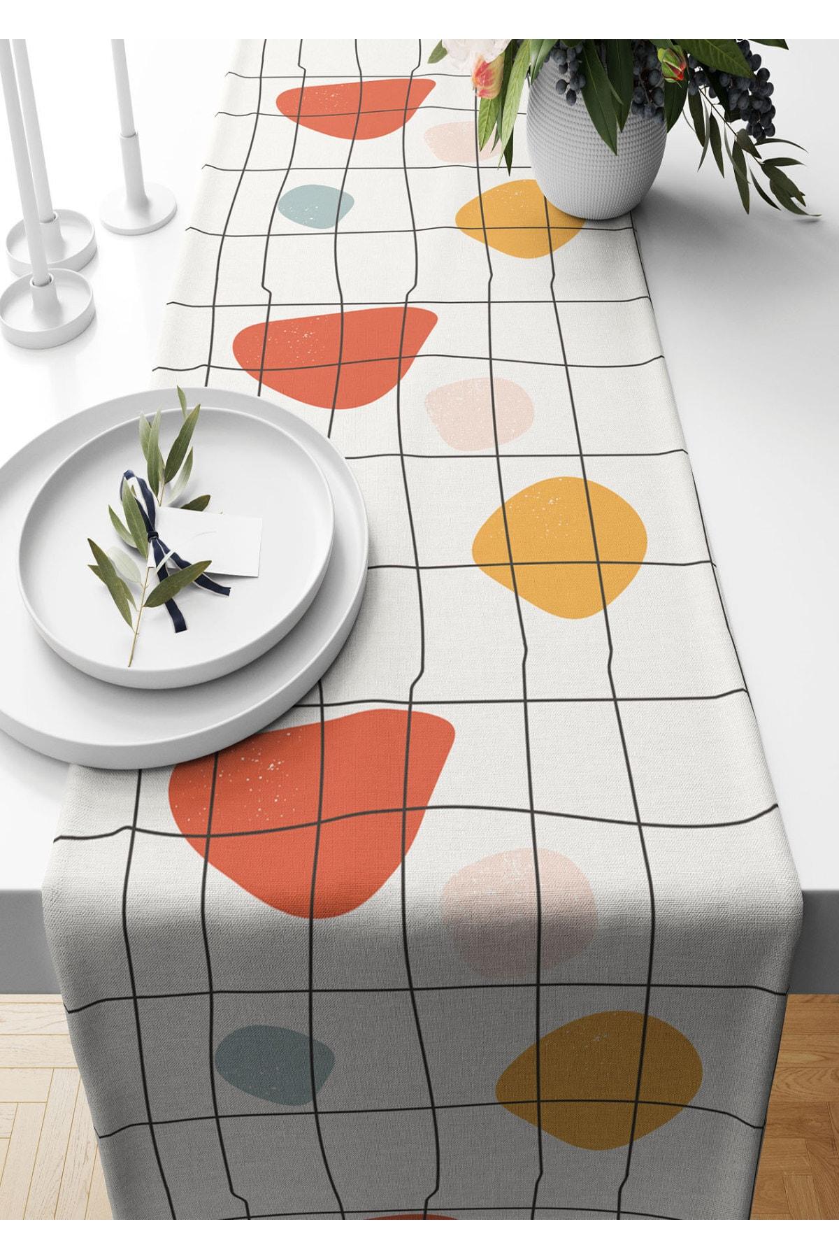 عداء 40*140 سم مجردة محكم من جلد الغزال المنسوجة مفرش طاولة غرفة المعيشة المطبخ