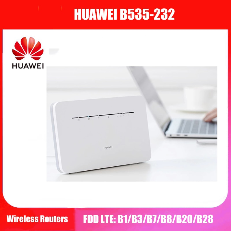 Huawei B535-232 4G Router 3 Pro LTE Cat7 300Mbps Wireless CPE Unlocked
