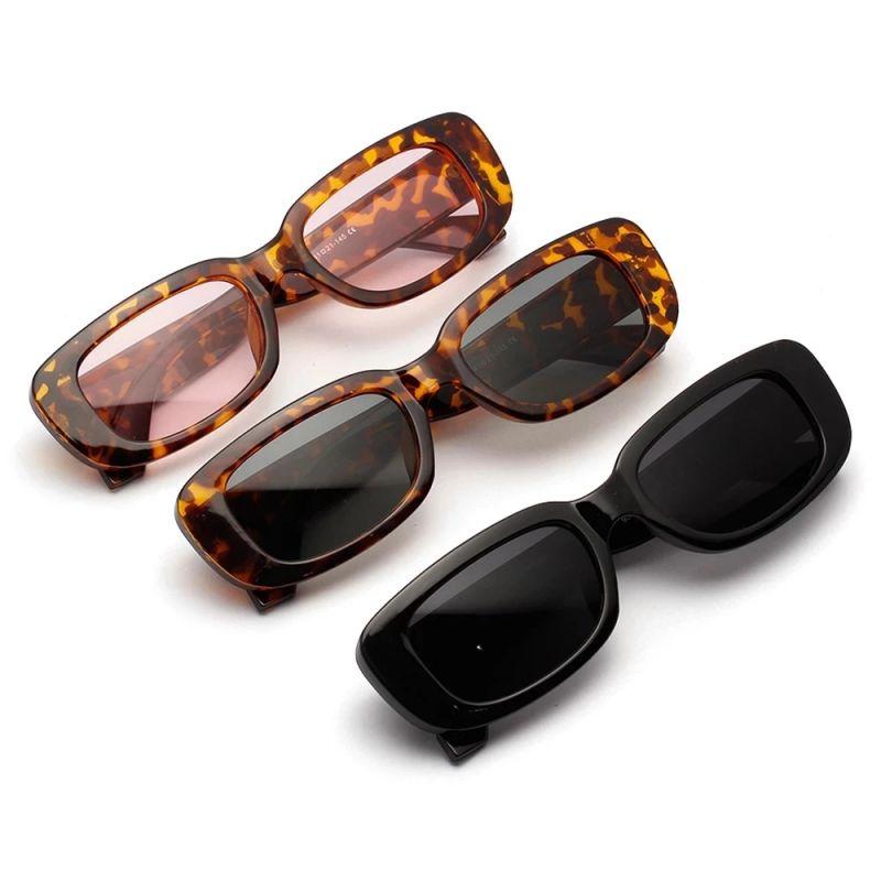 Fashion Women Glasses Vintage Square SunGlasses Luxury Trending Sun Shades Glasses Eyewear очки
