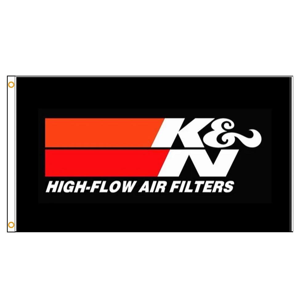 3 Х5 фута K & N флаг под заказ полиэфирные печатные флаги и баннеры для декора