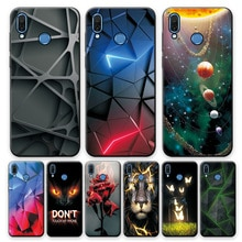 Honor Play Case Cover For Huawei Honor Play Silicone Back Case on HonorPlay 6.3 Fashion TPU Bumper H