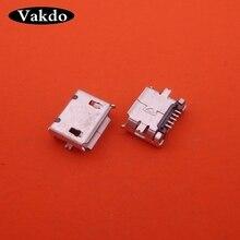 500 pièces Micro mini USB connecteur prise jack 5PIN chargeur port de charge remplacement réparation prise pour Nokia 6500C E66 8600 8800SA