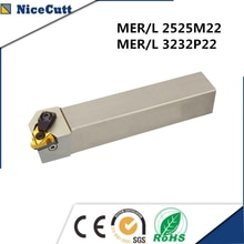 Mer2525m22 mel2525m22 torneamento externo ferramenta titular ferramentas de corte para 22er inserções freeshipping