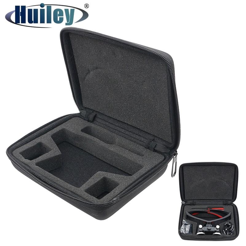 Коробка с молнией для бинокулярной лупы, высококачественный Чехол для очков, чехол с защитой от падения для Стоматологической Лупы