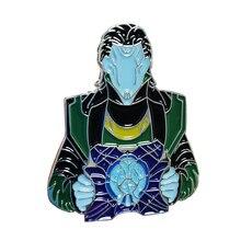 Loki brooch cool fantasy gift for Marvel Avengers fans