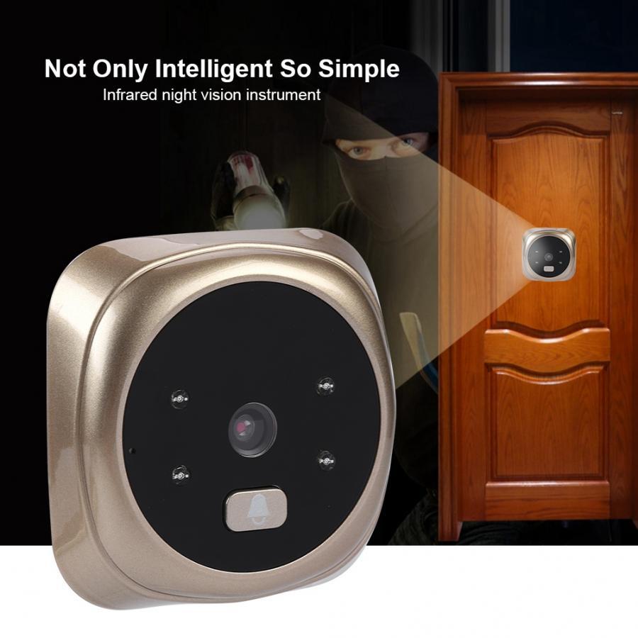 Mirilla Digital 2.4 Inch HD Screen Display Home Smart Doorbell Security Camera Electronic Door Viewer enlarge