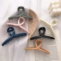 high quality cross large hair claw elegant acrylic hairpins barrette shark hair clips headwear for women girl hair accessories