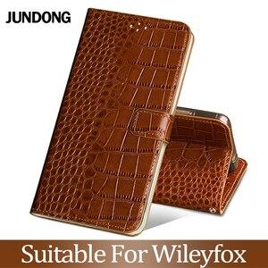 For Wileyfox Spakr X Swift 2 2X Plus Storm Case Cowhide Cowhide Luxury Card slot wallet phone flip cover