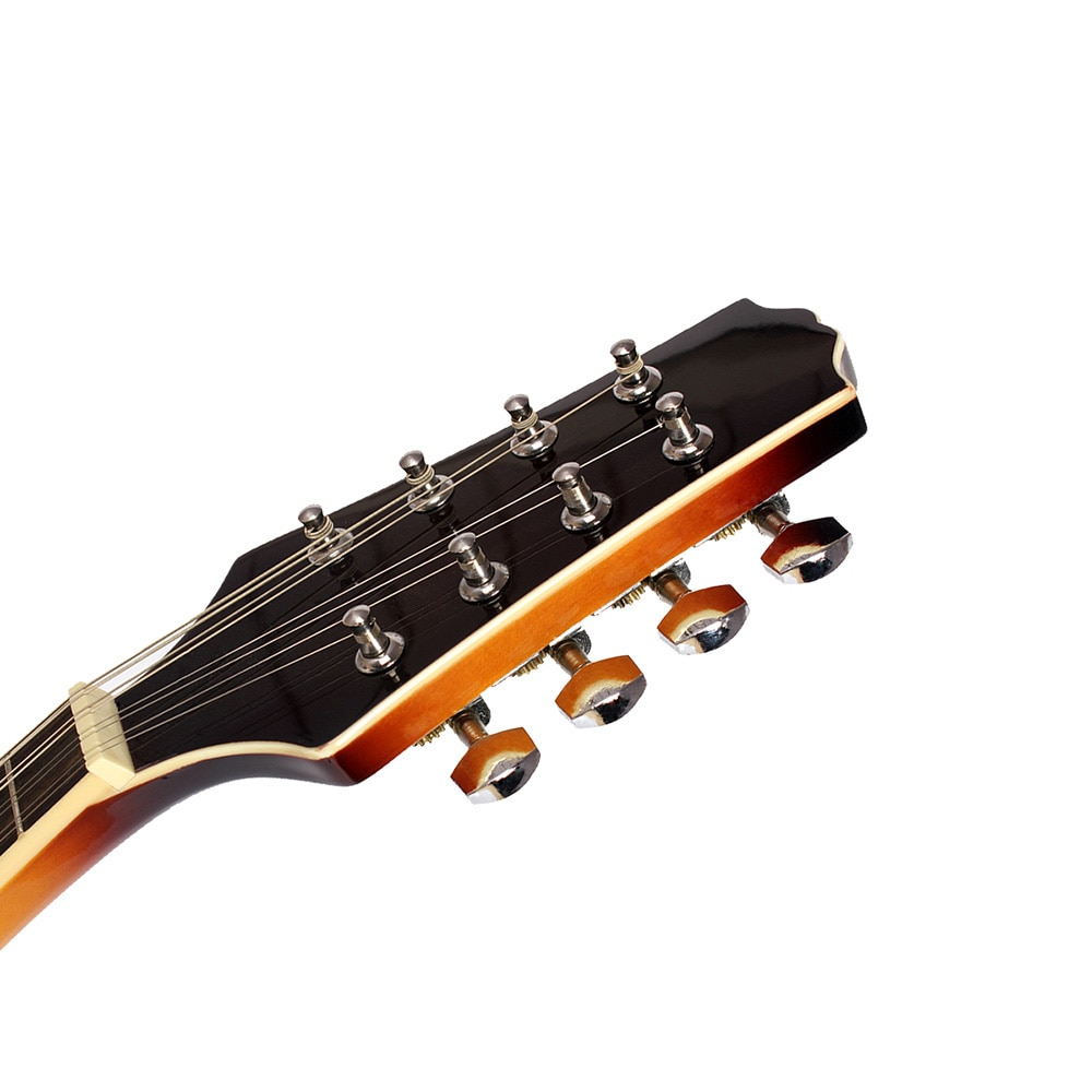8 String Guitar A Style Basswood Acoustic Mandolin Beginners Adults Musical Instrument Sunset Color Mandolin With Bag Capo Picks enlarge
