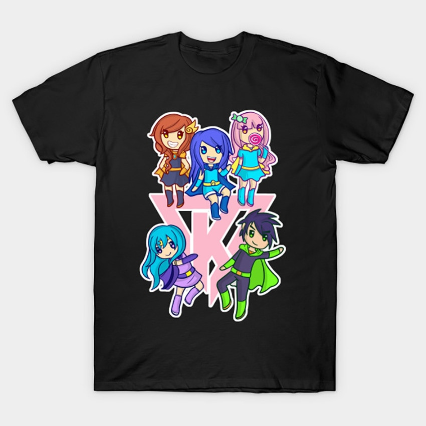 Funneh y ekipo camiseta Rosa su Funneh t camisa funneh merch stampylonghead funneh ekipo funneh pastel draco funneh