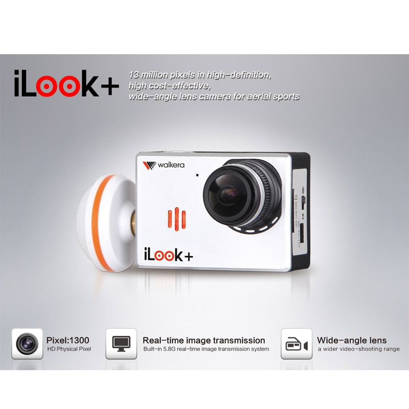 (CE Version) Original Walkera ILook+  1080P 60FPS Wide-angle Camera High-definition Sports Camera Wi