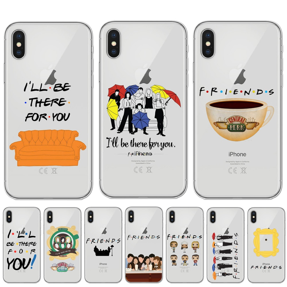 Central Perk Coffee friends tv show how you doin Soft TPU Case Cover For iPhone 11 Pro X XR XS Max 8 7 6 6S Plus 5S SE Capinha