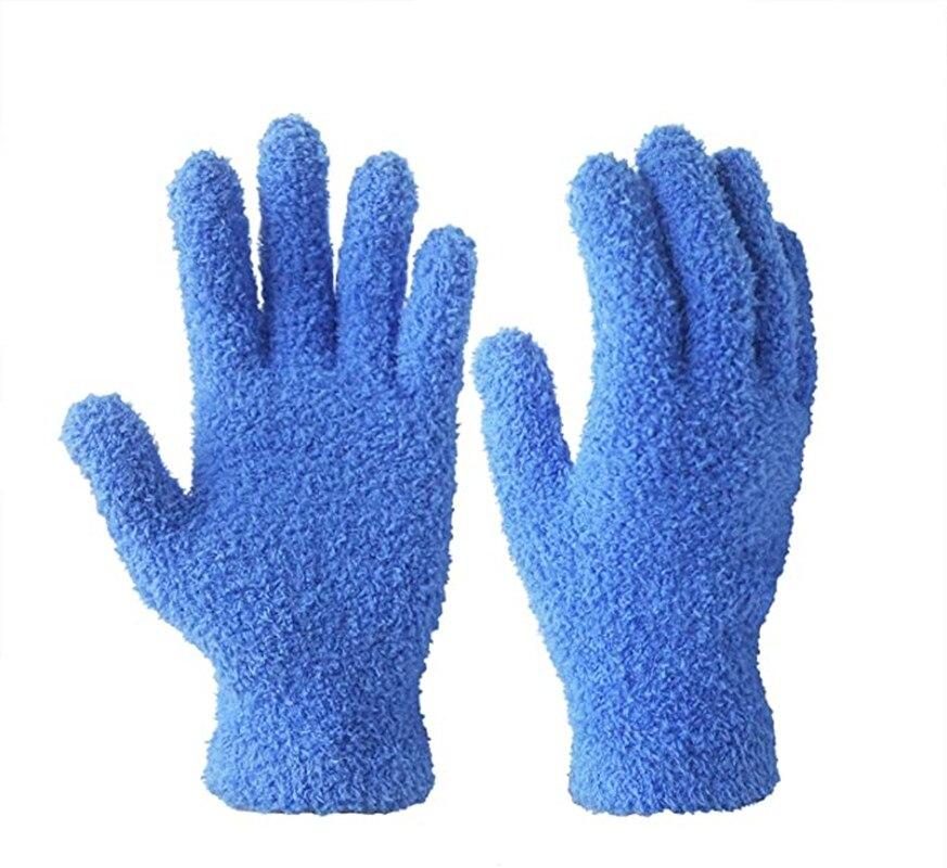 Автомобильные пышные перчатки из микрофибры для автомобилей и грузовиков, перчатки для уборки пыли для уборки дома, идеально подходят для у...