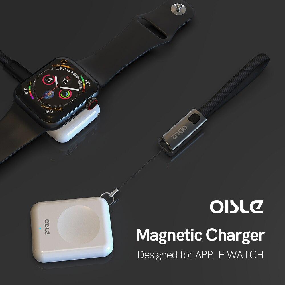 OISLE Mini Беспроводное зарядное устройство (без батареи) Быстрая Магнитная Зарядка Быстрая Зарядка Док-станция Apple Watch серии 4 iwatch 5 4 3 2 1 для iphone