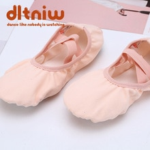 Lace Free Yoga Fitness Dance Shoes Ballet Shoes for Children Kids Soft Bottom Aerobics Shoes Dance S