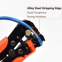 cable wire stripper cutter crimper automatic multifunctional crimping stripping plier tools electric hand tool