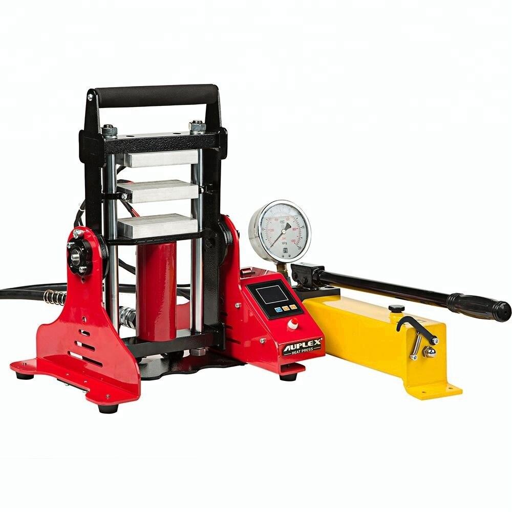 6x12cm 15 Ton Hydraulic Rosin Press 3 Heating Plates Oil Extractor Rosin Press Machine NO.AP1805