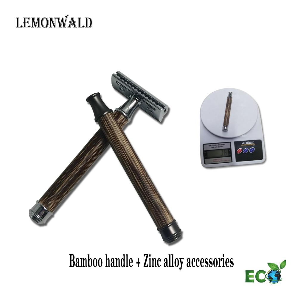 Фото - Мужская бритвенная ручка lemonski, деревянная ручка, Высококачественная бамбуковая ручка, безопасная бритвенная ручка ручка