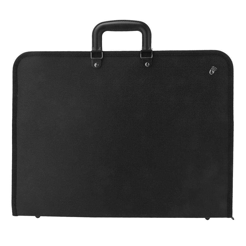 PVC Tragbare Malerei Platte Tasche A3 Zeichnung Skizze Bord Lagerung Datei Tasche Dokument Tragen Fall