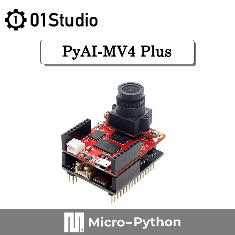 01Studio pyAI- MV4 Plus Compatible with OpenMV OpenMV4 H7 Development Board Camera Module MicroPython Artificial Intelligence недорого