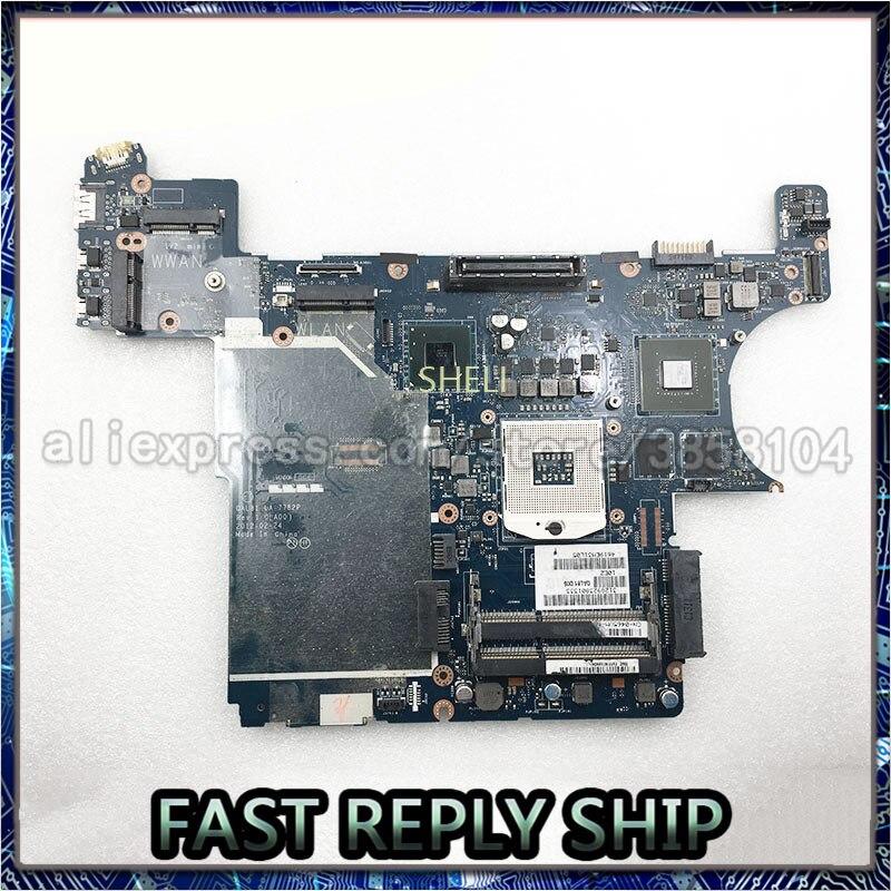 SHELI لديل اللوحة المحمول خط العرض E6430 CN-0465VM QAL81 LA-7782P NVS 5200 1GB 100% اختبار