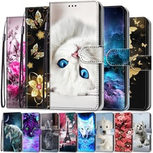 Phone Case For Xiaomi Redmi Note 8T 8 8A Flip Case Leather Luxury Wallet Cover For Redmi 8A Redmi8 N