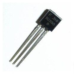 100PCS BC550C TO-92 BC550 TO92 550C novo transistor triodo