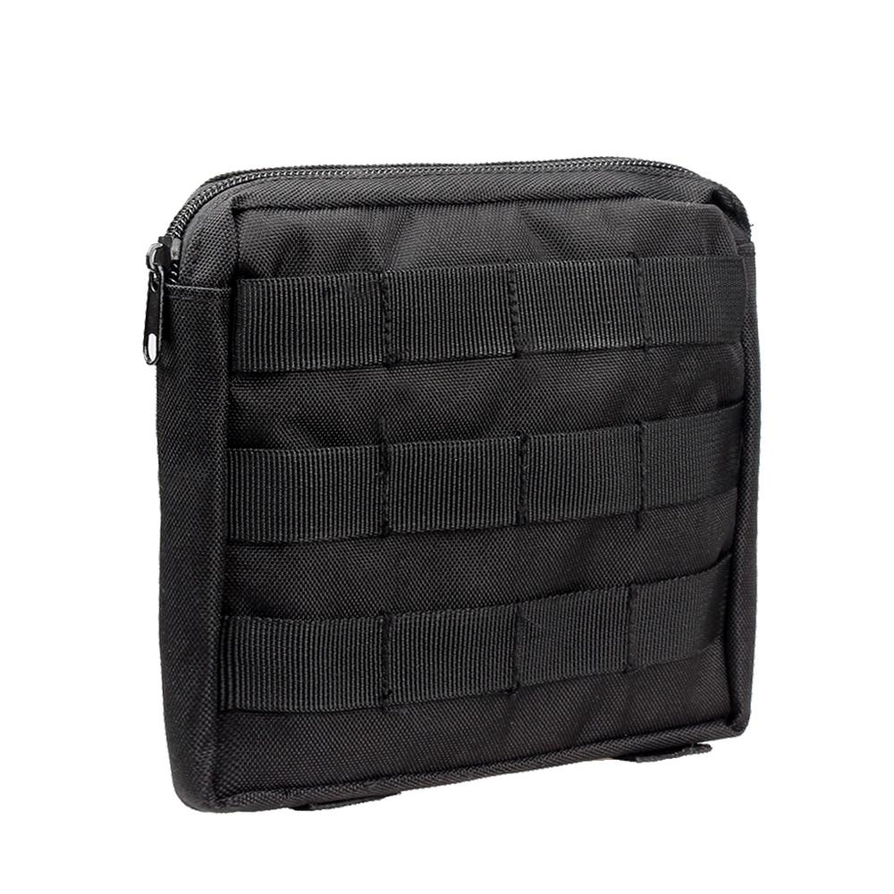 Kosibato bolsa de Nylon Molle bolsa de cintura táctica EDC bolsa de engranaje de supervivencia impermeable de la cintura trasera de utilidad al aire libre Molle bolsa de teléfono