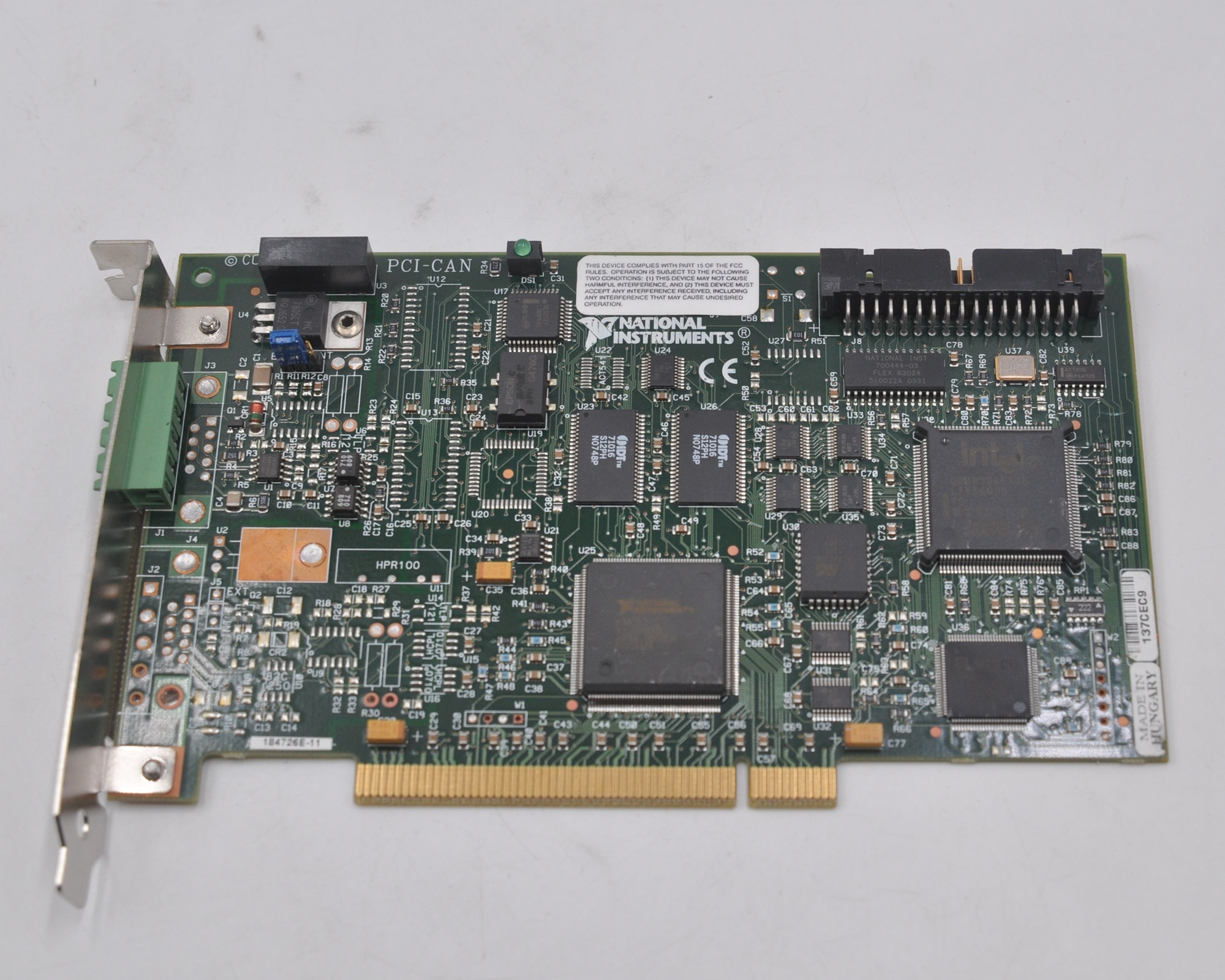 American NI PCI-CAN 2-port high-speed acquisition card