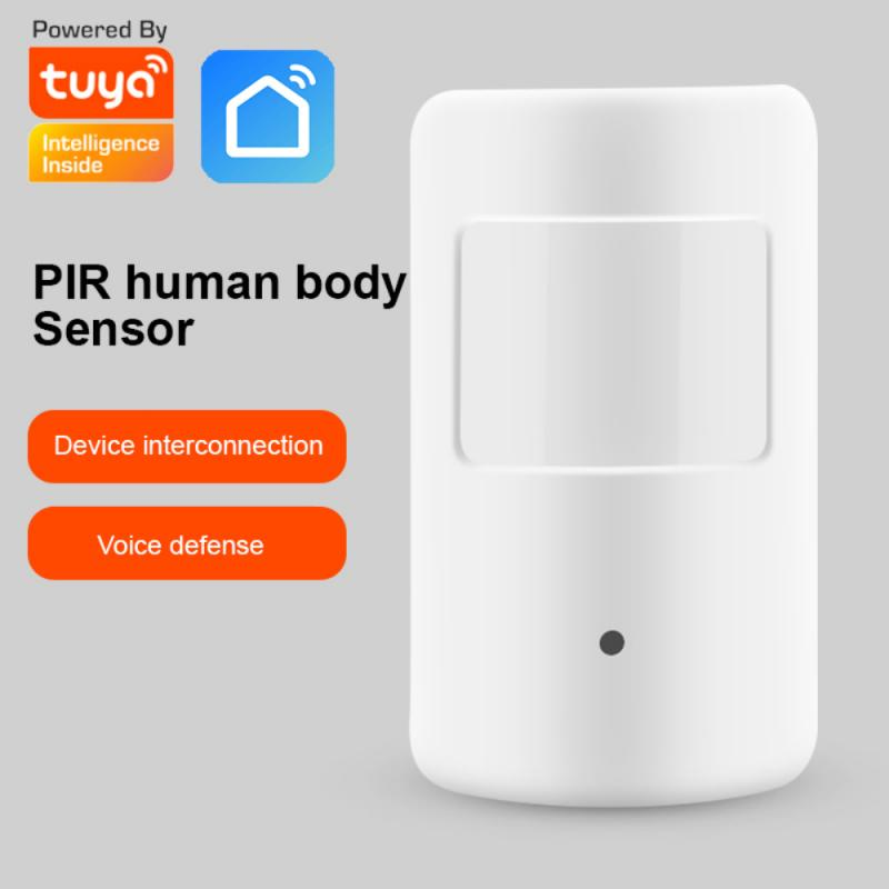 2021 New Tuya Zigbee Human Body PIR Motion Sensor Wireless Infrared Detector Security Smart Life Works With Alexa Google Home
