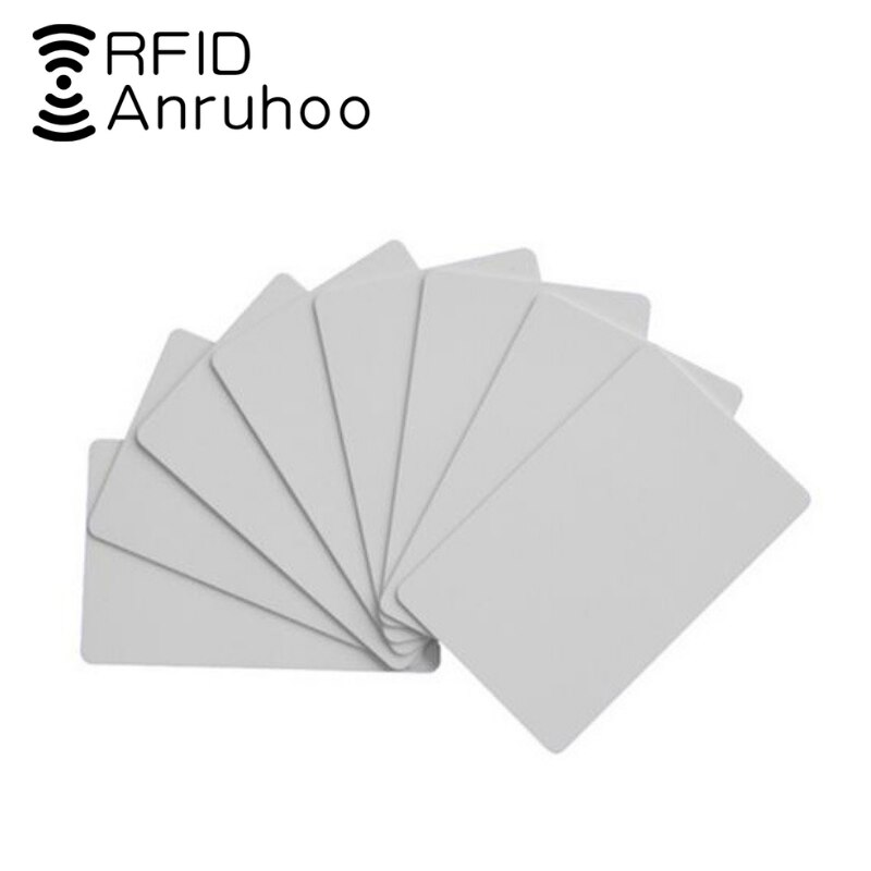 50 pces rfid controle de acesso cartão de chip inteligente nfc tag 0 bloco variável 1k s50 cópia chave 13.56mhz cuid emblema chave de clone regravável Cartões de controle de acesso    -