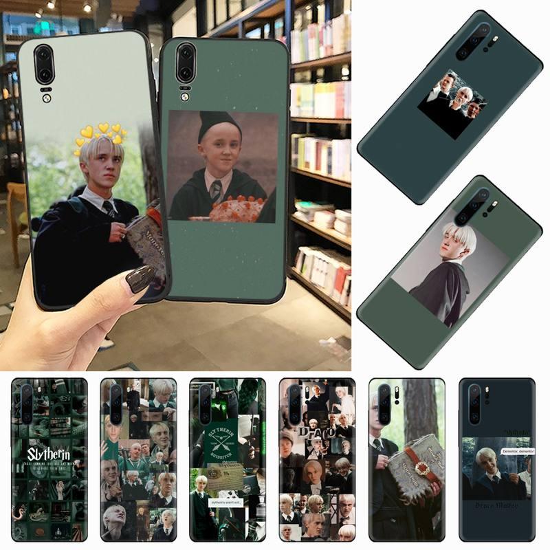 Draco Malfoy Telefon Fall Für Huawei honor Mate P 9 10 20 30 40 Pro 10i 7 8 ein x lite nova 5t