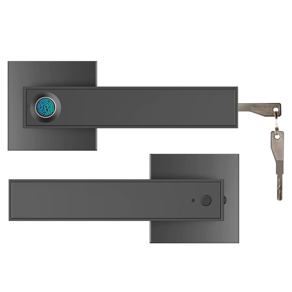 قفل ذكي إلكتروني أشباه الموصلات البيولوجية بصمة مقبض مفتاح قفل فتح الباب كشف لمكتب المنزل