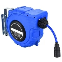 wall mounted automatic reel 10m retractable garden hose pipe reel water outdoor spray water garage tool car cleaning tools