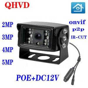 Car IP infrared night vision waterproof camera H.256 ONVIF P2P security surveillance camera