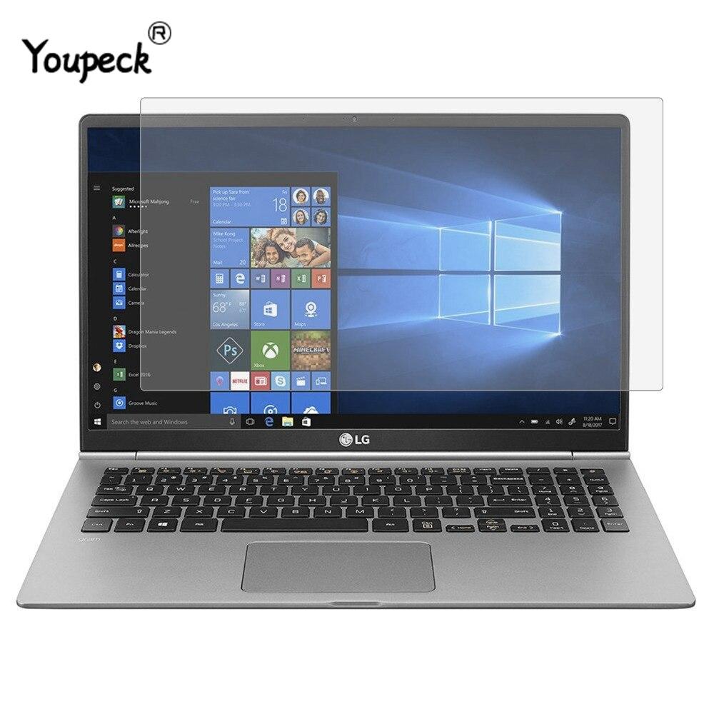YOUPECK 15,6-дюймовая защитная плёнка для экрана ноутбука для ноутбука LG gram Универсальная матовая защитная пленка с ЖК-дисплеем Антибликовая 2 шт.