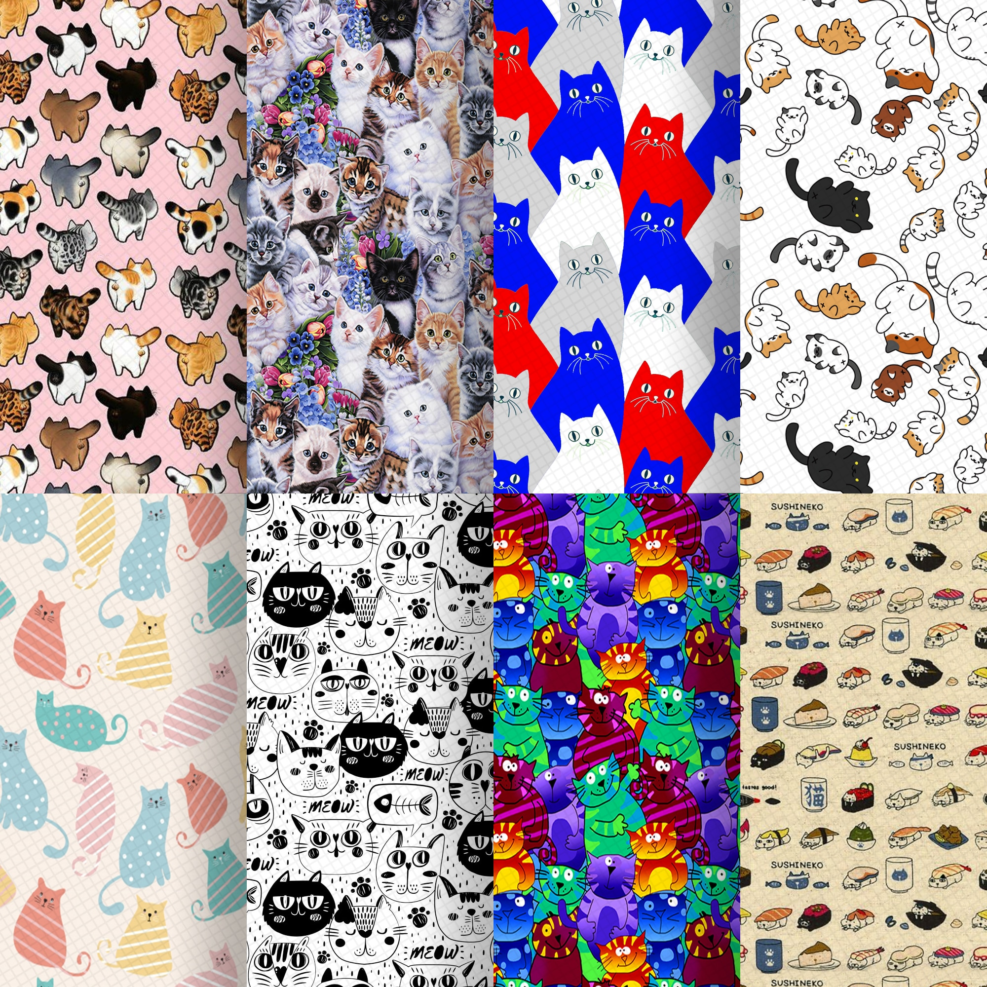 20*33cm Cat Faux Synthetic Leather Fabric For Bow-knot Bags Wallet Earring Phone Case Scrapbook DIY,1Yc16470