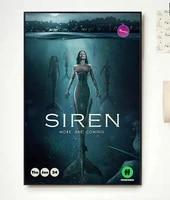 Affiche en soie  Film classique tendance  decor artistique pour la maison  autocollant mural  serie TV  sirene saison 2  NP104