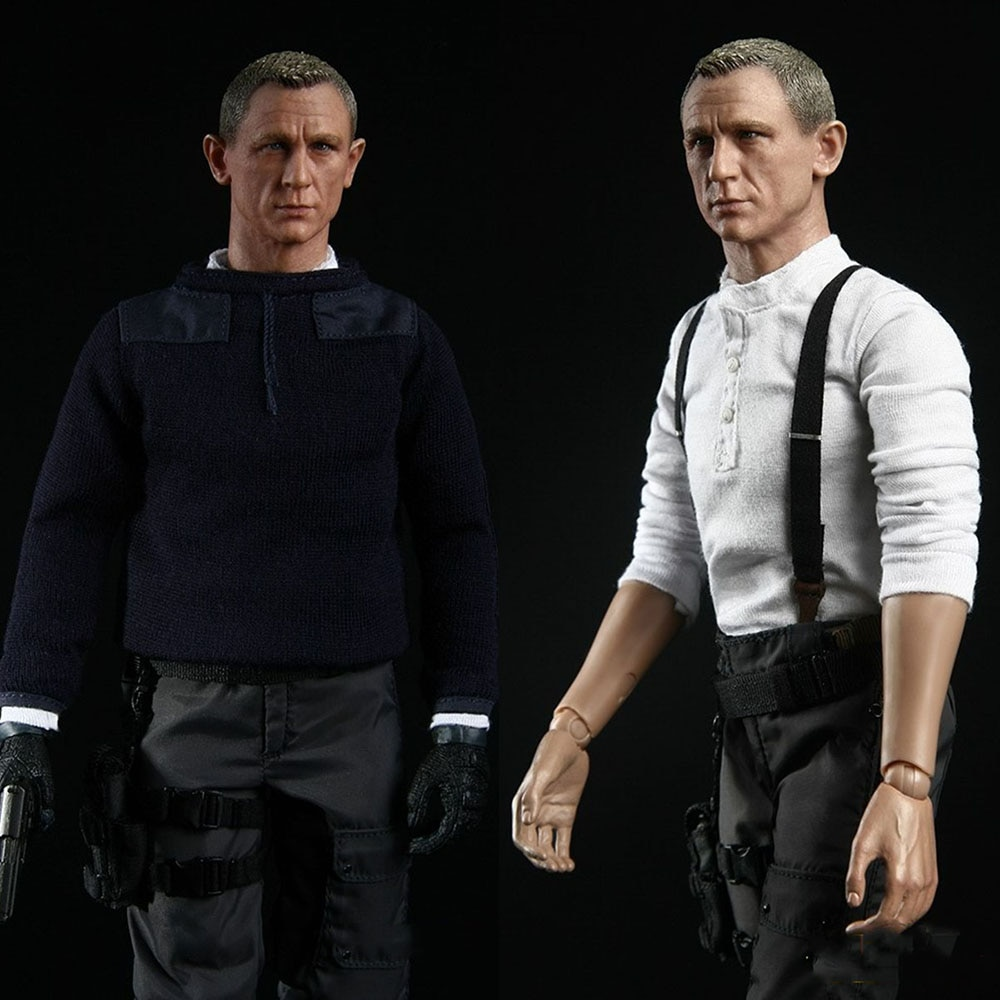 1:6 Male Action Figure James Bond 007 Doll Model Collectable BBT9016 Display 12 inch Full Set In Stock