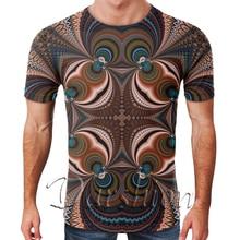 Drôle 3D t-shirts psychédélique Paisley impression t-shirt hommes femmes Harajuku Hip Hop t-shirt hommes Streetwear t-shirt mode 3D t-shirt
