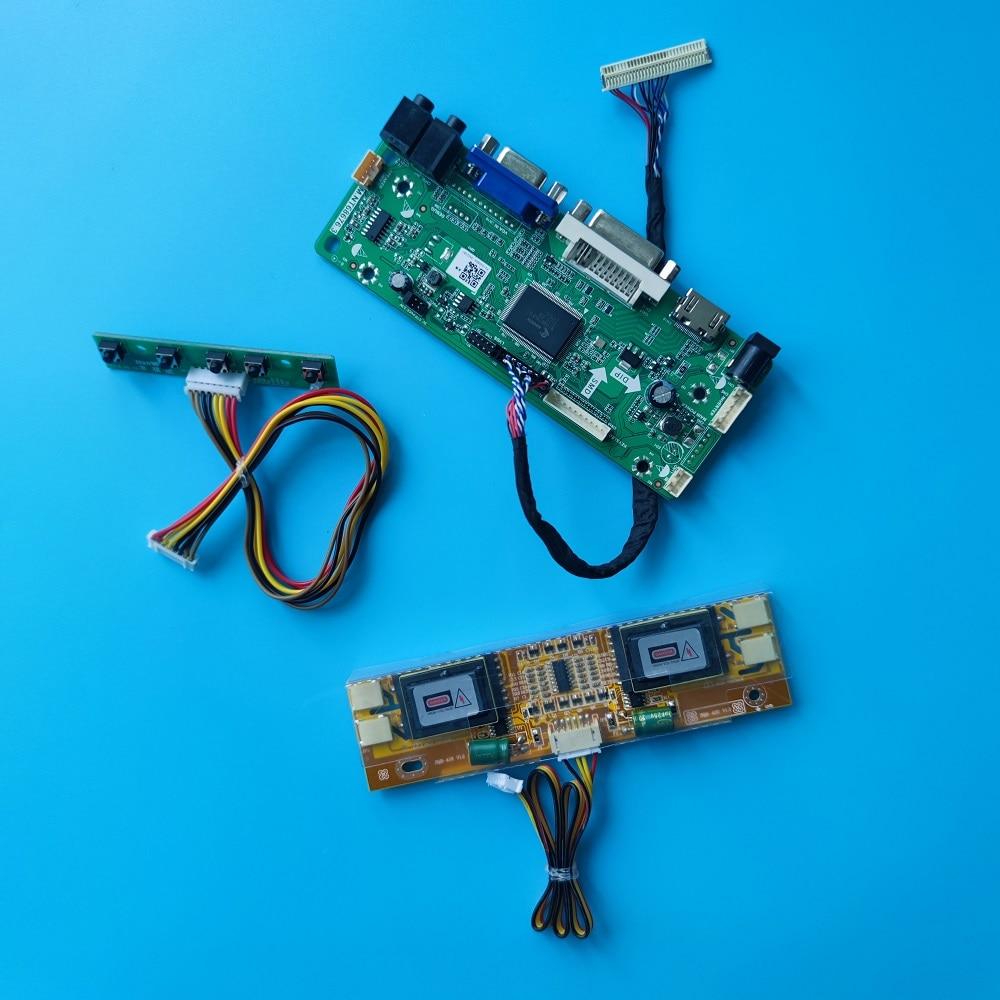 عدة ل M190PW01 V1/V0/V2/V3 30pin LVDS 4 مصابيح الشاشة M.NT68676 19