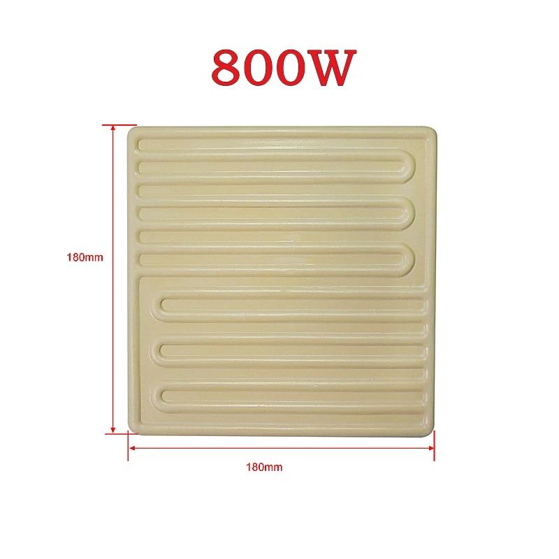IR6000 bottom ceramic plate 800W, bottom heating plate for IR6000 White,220V/230V