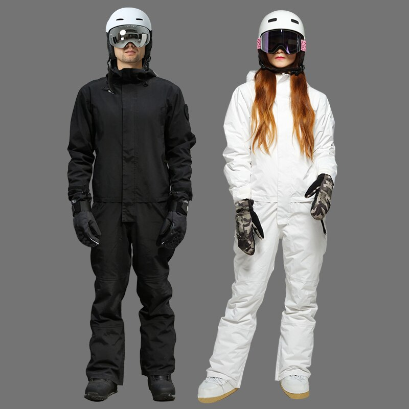 2021 лыжный комбинезон мужской водонепроницаемый сноуборд зимний комбинезон для женщин с капюшоном лыжный костюм мужской Спортивный зимний ...