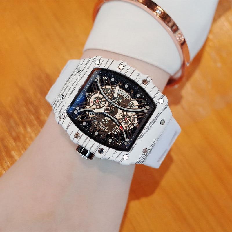 ساعات رجالي جديدة موضة 2021 RM رياضية غير رسمية فاخرة Reloj Hombre ساعات معصم رجالية كوارتز أصلية شهيرة