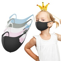 5PCS New Children's Reusable and Breathable Outdoor School Protective Equipment Face Masks Cute 3D Design Mascarillas Wholesale
