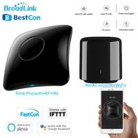 Broadlink Bestcon RM4 Pro/Rm4C Mini WiFi IR RF Universal Smart Remote Controller Work With Alexa Google Home for Home Automation